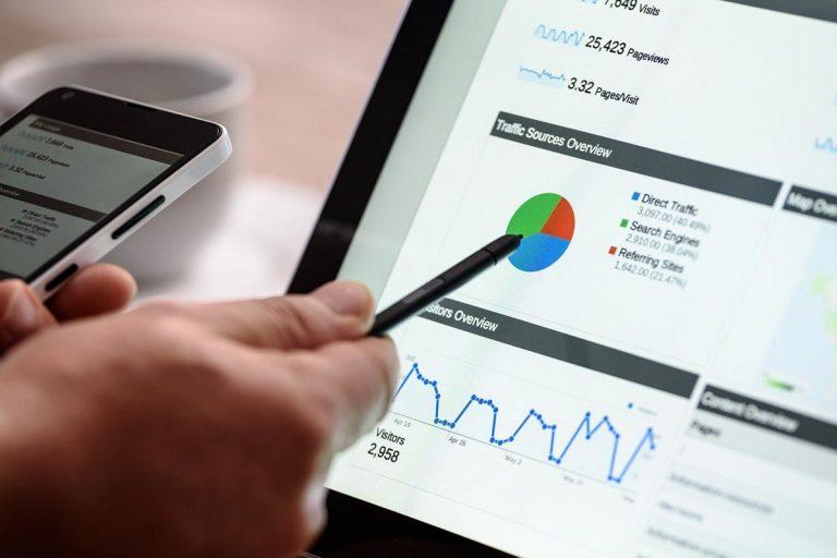 Aktivitäten einer Marketing- und Werbeagentur in Social Media.